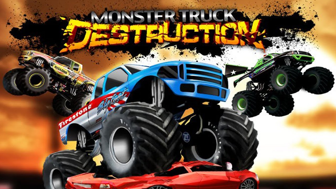 monster truck destruction universal hd gameplay trailer youtube. Black Bedroom Furniture Sets. Home Design Ideas
