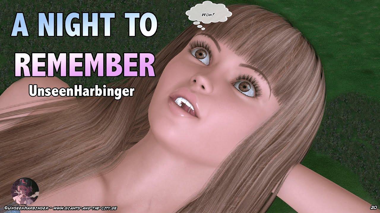 Download A Night to Remember - Giantess Comic   MrGiantess