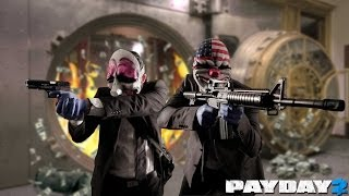 PAYDAY 2 - CO-OP Gameplay - MAX Settings - i3 2120, MSI 7790 OC