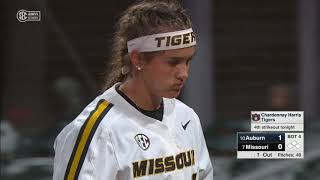Auburn Softball vs Missouri SEC Tournament Highlights