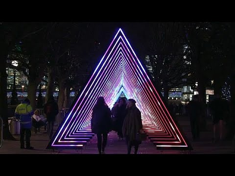 London lights festival is antidote to winter darkness