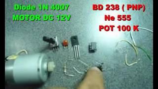 variateur de vitesse moteur dc 12v