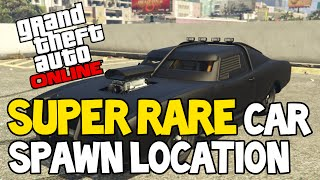 GTA 5 ONLINE - Rare Secret Car Spawn Location After Patch 1.28  (GTA 5 RARE CARS)