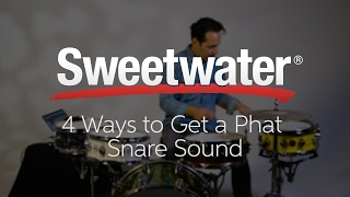 4 Ways to Get a Phat Snare Sound