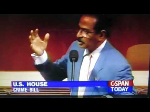 082094- Rep. John Conyers on the Clinton Crime Bill Rule