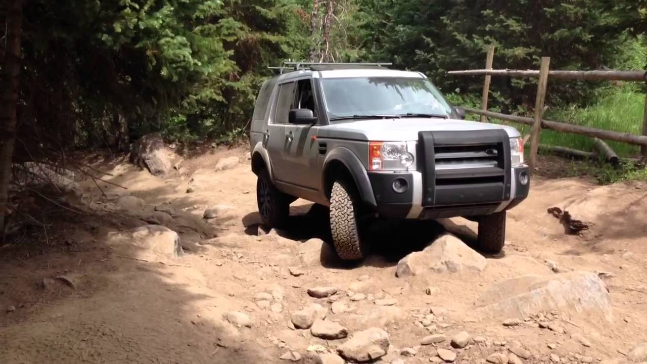 Land Rover Lr3 Off Road Youtube
