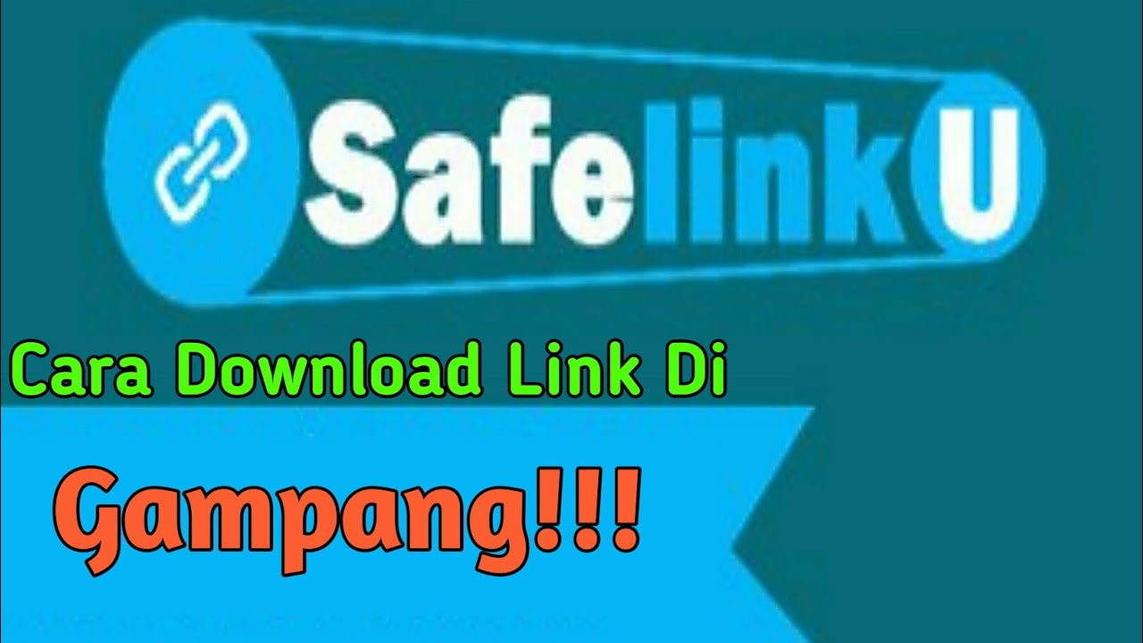 Cara Download File di Link SAFELINKU di Android||TUTORIAL