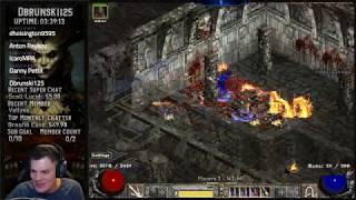 Diablo 2 - High Rune and Facet farming - Loot filter Trav Whirlwind Barbarian