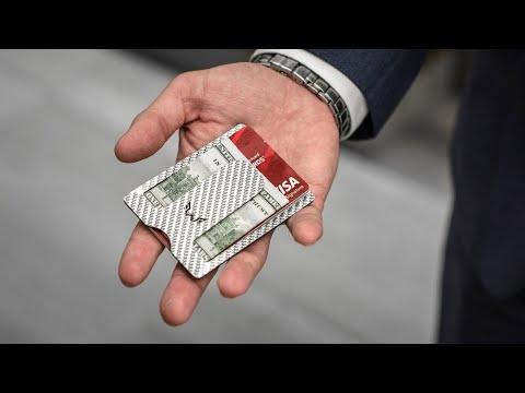 WYN Minimalist Wallet (Black) video thumbnail