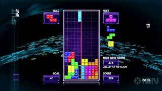 Tetris: The Split Gameplay