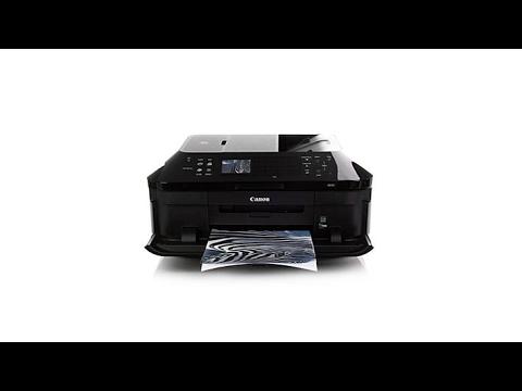 Canon MX922 Wireless AllinOne Printer w/Photo Paper - YouTube