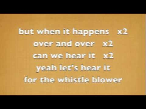 Whistleblower - Arkells (lyrics on screen) HQ