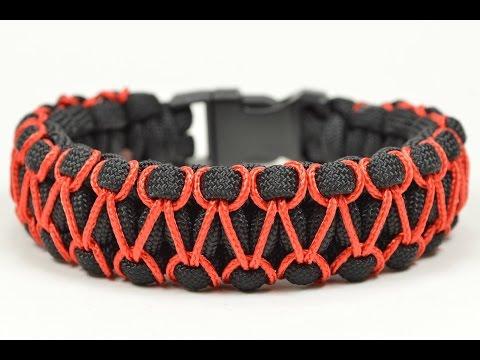 Make the 'Herringbone Stitched' Cobra Paracord Bracelet - Paracord.com