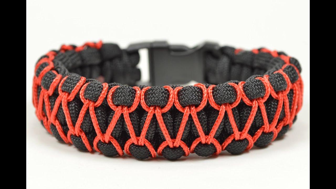 Make The Herringbone Sched Cobra Paracord Bracelet You