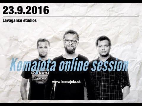 Komajota online session - Bratislava - LVGNC studios - 23.9.2016