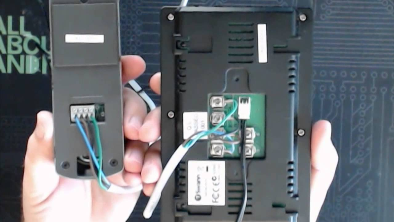 Urmet Intercom Wiring Diagram