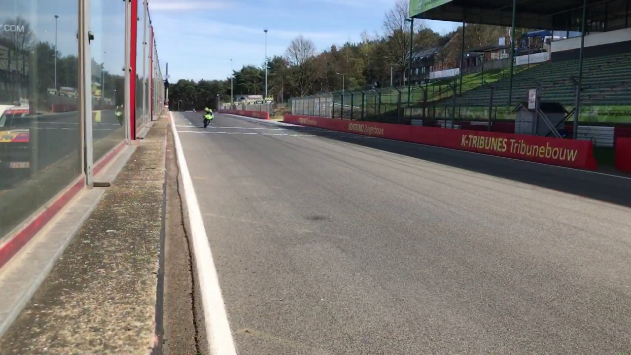 Circuito Zolder Belgica : Kawasaki zx r at circuit zolder belgium onboard