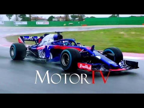 MOTORSPORT : F1 2018 l TORO ROSSO HONDA STR13 LAUNCH l Shakedown run & Interviews
