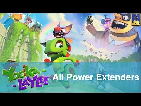 Yooka-Laylee: All Power Extenders   Stevivor  