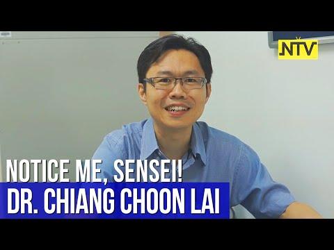 Notice Me, Sensei!   Episode 3 - Mr. Chiang Choon Lai