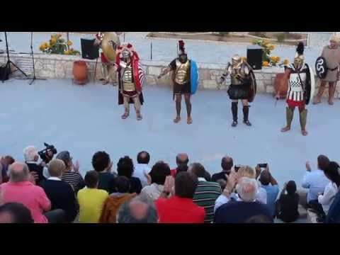 Honoring King Leonidas and the battle of Thermopylae | Event in Sparta, Greece
