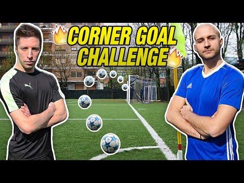 CORNER GOAL FREE KICK CHALLENGE - Continua la Sfida!!