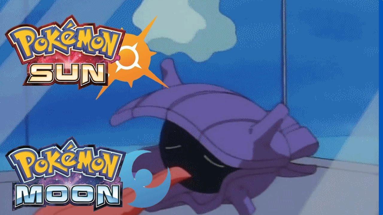 Pokemon Sun & Moon Very Rare Encounter Shellder Easy Tricks To ...
