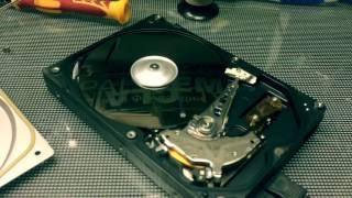 Hitachi HDD inside