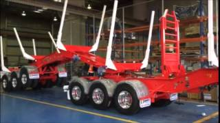 Kennedy Trailers Tri - Tri Folding B Double