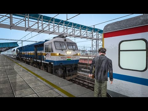 Shatabdi Express Coupling With EMD | Railworks Train Simulator | Indian Railways