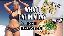WHAT I EAT IN A DAY: F-FACTOR HIGH FIBRE WEIGHT LOSS   intheluxe