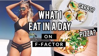 WHAT I EAT IN A DAY: F-FACTOR HIGH FIBRE WEIGHT LOSS | intheluxe