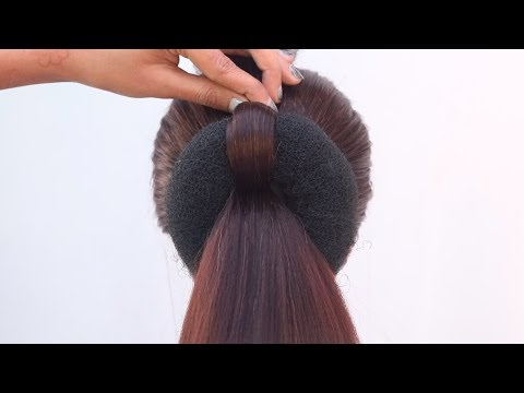 quick-hairstyle-for-saree-||-simple-hairstyle-||-cute-hairstyles-||-easy-hairstyles-||-hairstyle