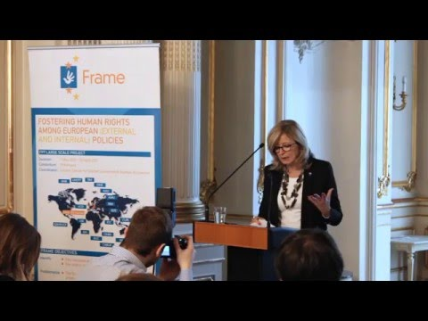 FRAME High Level Lecture - Ms. Emily O'Reilly, the European Ombudsman