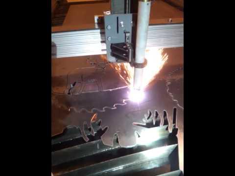 Arclight Dynamics 4x8 Cnc Plasma Table First Cuts Youtube