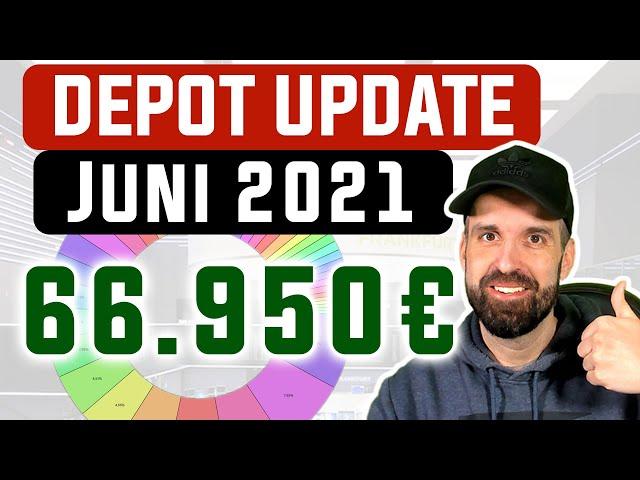Depot Update Juni 2021 📊 Aktien, ETFs, Kryptos