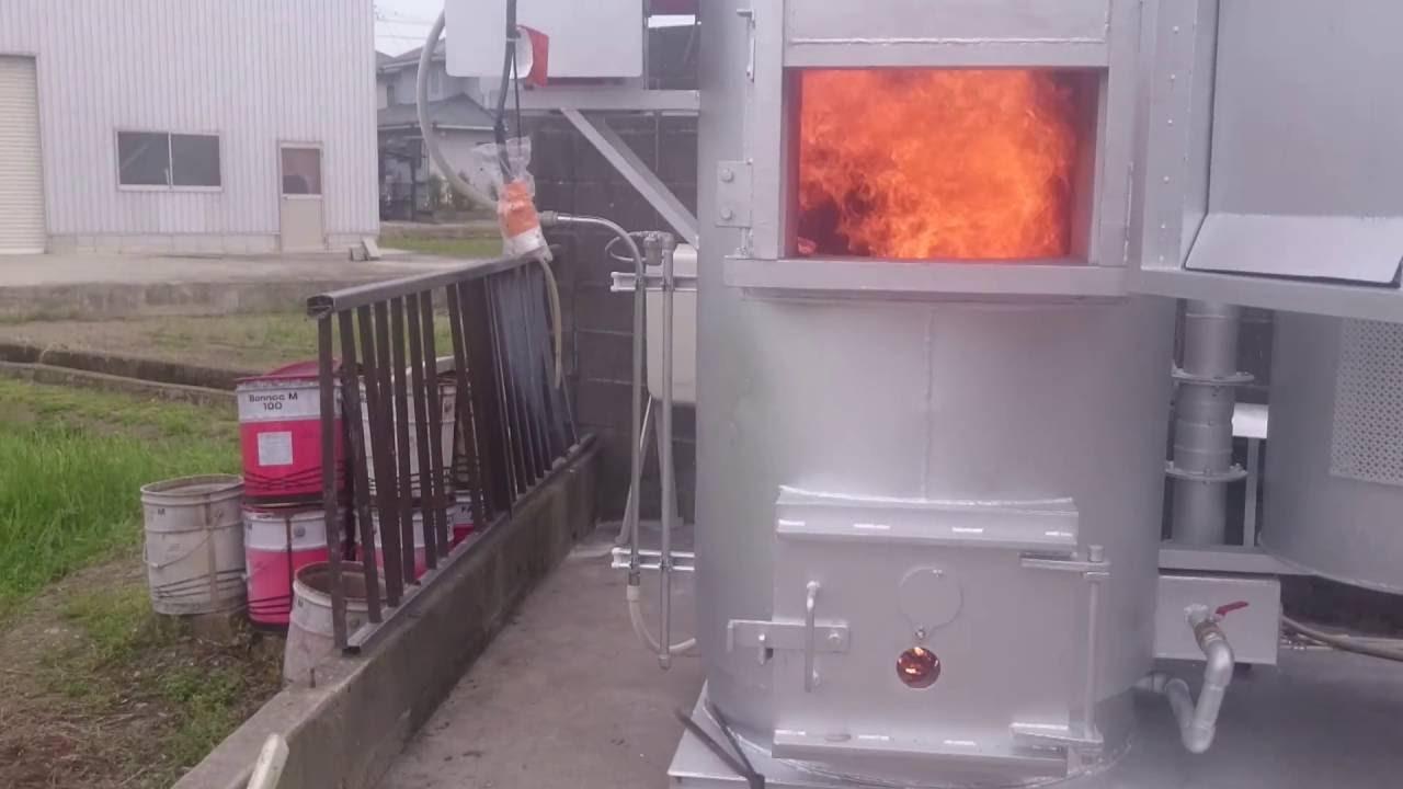 自作 焼却 炉