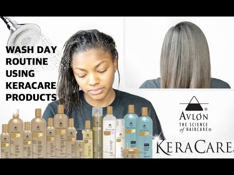 KeraCare Wash Day Routine