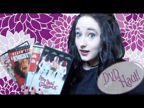 Charity Shop DVD Haul! Part 1, September 2016  Amy McLean