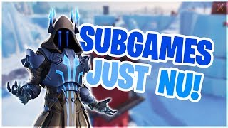 SUBGAMES! LETS GO! // FORTNITE LIVESTREAM SVENSKA // FAMILY FRIENDLY👩‍👩‍👧‍👧