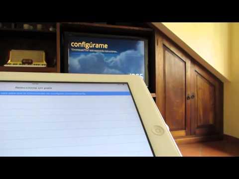 Instalar y utilizar Chromecast desde el iPad, iPhone o iPod