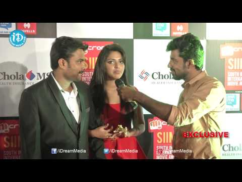 Amala Paul And A L Vijay Exclusive Interview - SIIMA 2014 Awards