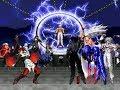 MUGEN KOF Iori Blood Vs  Orochi Team
