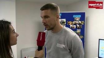 """Eröffnung Jugendtreff """"Grembox"""" - Lukas Podolski im Interview"""
