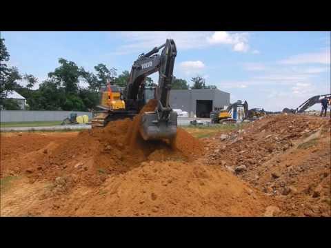 Volvo 750E Mass Excavator