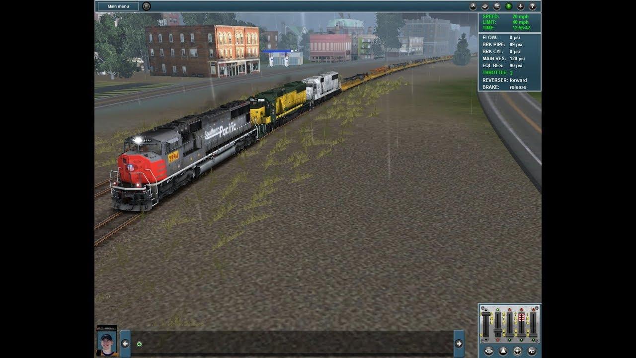 Trainz 12 Railfanning (7/28/2018 to 8/4/2018)