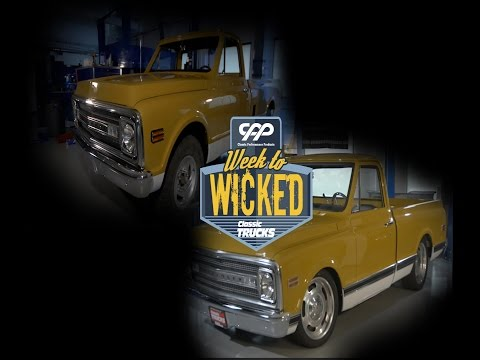 Five days from stock 1970 C20 to a 700hp C10! Week to Wicked Ep. 2