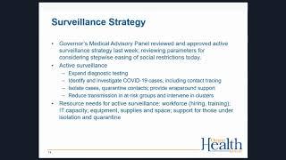 Oha covid-19 healthcare provider webinar, april 28