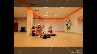 Новогодний танец, стрип-пластика