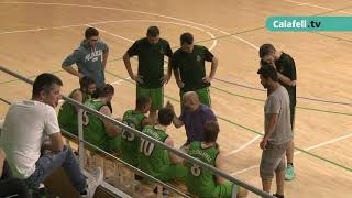 CB Calafell-Bàsquet Nou Barris: 2n partit per la permanència a 3a Catalana